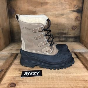 LL Bean Heavy Warm Lined Winter Boots